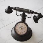 アンティーク風置時計 電話型