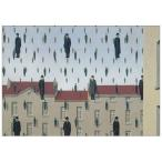 ポストカード【アート】ルネ・マグリット(Rene Magritte)/ゴルコンダ、1953 -枠無し- (training)