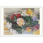 ポストカード【アート】ラウル・デュフィ(Raoul Dufy)/ Roses,1941 (yujin)