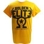 お1人様各サイズ2枚まで:新日本プロレス/NJPW Golden Elite(ゴールデンエリート) The Golden Elite イエローTシャツ