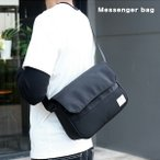 メッセンジャーバッグ メンズ ショルダーバッグ 肩掛けバッグ 撥水性 耐久性 ナイロン素材 丈夫 収納ポケット多数 ショルダー紐調節可能 マグネット式