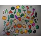 ビーカムで買える「プリントステッカー 青果51種類からお選び購入 カット済み」の画像です。価格は59円になります。