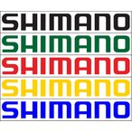 プリントステッカー  シマノ  ロゴ   NO.1   2枚入り