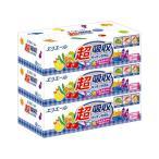 大王製紙 エリエール超吸収キッチンタオルボックス 75組(150枚)1セット(36箱:3箱×12パック)
