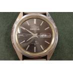 セイコー 5アクタス 6106-7480 メンズ ブラック文字盤 腕時計 デイデイト SS 自動巻き ウォッチ SEIKO  【中古】bt507