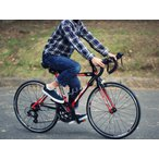 ☆アウトレット☆ DOPPELGANGER 24インチジュニアロードバイク  D40J-RD シマノ14段変速 (140~160cm)