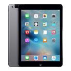 中古 タブレット iPad Air Wi-Fi+Cellular 32GB au(エーユー) スペースグレイ 本体 9.7インチ iOS11.3 Apple アップル 6ヶ月保証