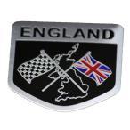 イギリス ユニオンジャック エンブレム  ロゴ 国旗 旗 金属製 プレートステッカー デコレーション ステッカー ラベル シール