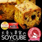 【大麦と果実のソイキューブ プレミアム】小麦粉不使用でとってもヘルシー♪食物繊維たっぷりで満腹感ばっちり!