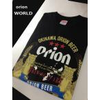 orion,ワールド,シーサー,オリオンビール Tシャツ ,S ,M, L, XL サイズ,青,綿100%