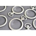 ビーズクラブ レジン枠 円 デザイン 古代銀 空枠 フレーム 74mm 1個 UVレジン パーツ