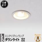 LED 電球用ダウンライト LED照明 照明器具 LED 電球 e17 ダウンライト 天井埋込型 穴開けΦ125mm アルミ反射板 銀色仕上 LDK125