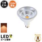 【高演色Ra95/Par38】LED スポットライト e26 角度30° LED電球 E26 IP65 防水 COBタイプ  LSB6126AV 電球色2700K