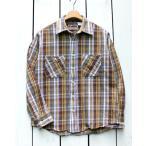CAMCO カムコ ネルシャツ ブラウン グレー 21-2 ヘビーウエイト Heavy Weight L/S Flannel Shirts 2021 チェック