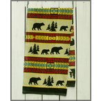 Earth Ragz Printed Bath Towel Grecas / アースラグズ プリント バスタオル Bear Adventure