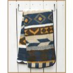 Earth Ragz Jacquard Hi-Pile Throw Zapotec blanket / アースラグズ ジャガード ハイパイル スロー ブルー ベージュ ブランケット