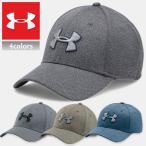 アンダーアーマー メンズスポーツキャップ UNDER ARMOUR MENS HEATHER BLITZING CAP 帽子 ゴルフ