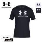 アンダーアーマーヒートギア メンズ半袖Tシャツ UNDER ARMOUR SPORTSSTYLE LOFO SS 1329590