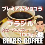 bears coffee コーヒー豆ブラジル プレミアムショコラ 100g コーヒー豆通販 人気にコーヒー訳あり
