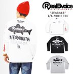 RealBvoice INTERNATIONAL FISHING フロントポケット付 長袖Tシャツ 16AWM101