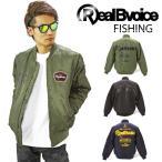 (送料無料)RealBvoice FISHING  MA-1ジャケット リアルビーボイス 16AWM106