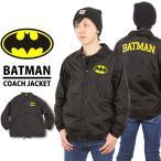 バットマン コーチジャケット BATMAN アメコミ ジャスティスリーグ ナイロンジャケット ウィンドブレーカー USサイズ A05 対象2点で送料無料