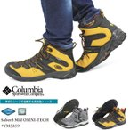 ショッピング登山 (セール/送料無料)コロンビア Columbia セイバー3ミッド オムニテック YM5259