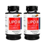リポエイト Lipo8 2本 1本 50錠  ファセオラミン、ガルシニアカンボジア、キトサン配合 天然成分 海外発送便商品:日時指定不可