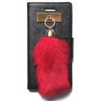 ショッピングセレブ JAGGER EDGE ジャガーエッジ アメリカ ウオレット カード入れ ウォレット Butterfly smart wallet RED bunny charm iphone 6 6s ケース レッド 海外 ブランド