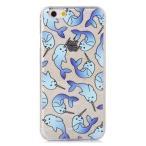skinnydip スキニーディップ ロンドン の ラメ入り イッカク IPHONE 6 6S NARWHAL CASE アイフォン シックス ケース iphne6s 保護フィルム セット 海外 ブランド