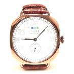 LAMERCOLLECTIONS ラメールコレクション vintage watch brown copper お洒落な時計 革ベルト 女性 レディース 値下げ セール 海外 ブランド