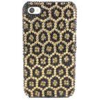 iPhoneSE / iPhone5s  iPhone SE iPhone 5s デコケース ラインストーン 豹柄 ゴールド (8%offクーポン発行中 2/16 1:00まで)