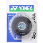 (最大500円OFFクーポン 11/30 23:00まで)ヨネックス YONEX ウェットスーパーグリップ 5本パック(5本入) [カラー:ブラック] #AC102-5P