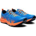 アシックス ASICS フジトラブーコ ライト トレイルランニングシューズ [サイズ:28.5cm] [カラー:ディレクトワールブルー×オレンジ] #1011A700-400