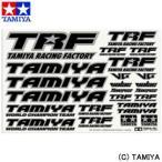 タミヤ TAMIYA TRFシリーズ No.246 TRFステッカーC (ミラーエッジ/ブラック)