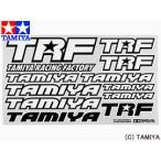 タミヤ TAMIYA OPパーツ OP.503 TRFステッカーB(黒/白)