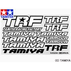 タミヤ TAMIYA OPパーツ OP.504 TRFステッカーB(青/白)