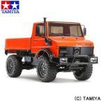 タミヤ TAMIYA 1/10 電動RCカー No.609 メルセデス・ベンツ ウニモグ 425 (CC-01シャーシ) 1/10 MERCEDES-BENZ UNIMOG 425 (CC-01 CHASSIS)