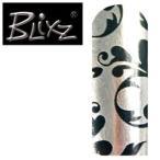 (500円OFFクーポン 1/4 23:00まで)ブリックス ネイルシール BX089 シルバー/Bアラベスク BLIXZ 化粧品