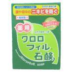 黒龍堂 薬用 クロロフィル石鹸 85g KOKURYUDO 化粧品