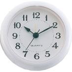 (500円OFFクーポン 1/4 23:00まで)アーテック 丸型時計 ホワイト(アラーム付) ARTEC