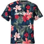 (500円OFFクーポン 1/4 23:00まで)アンドロ 卓球ウェア フルデザインシャツ イー [サイズ:XL] #302017 ANDRO