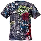 (500円OFFクーポン 1/4 23:00まで)アンドロ 卓球ウェア フルデザインシャツ エフ [サイズ:2XL] #302018 ANDRO