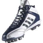 アディダス アディピュアT3 MID ポイント 野球スパイク [サイズ:25.0cm] [カラー:クリスタルホワイト×カレッジネイビー] #AQ8360 ADIDAS