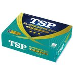 ティーエスピー SL-PREMIUM 40+ 3スター 公認球 卓球プラスティックボール #014027 1ダース入り(12球) TSP