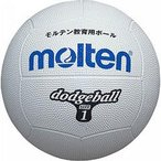 (500円OFFクーポン 1/4 23:00まで)モルテン ドッジボール 1号球 [カラー:ホワイト] #D1W MOLTEN