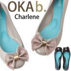 オカビー 靴 ラバーシューズ パンプス OKA b.  Charlene シャーリーン