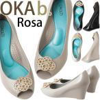 オカビー 靴 パンプス ラバーシューズ  OKA b. Rosa ローザ