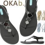 オカビー/OKA b. リロ Tストラップ サンダル トングサンダル 靴 ビーチサンダル 歩きやすい 疲れにくい