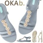 オカビー/OKA b. マッケンナ Tストラップ サンダル トングサンダル 靴 ビーチサンダル 歩きやすい 疲れにくい